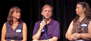 Rosemary Rawlins, Dave Smitherman, and Robin Sullivan
