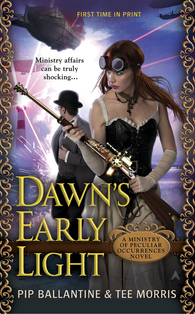 dawnsearlylight by steampunk authors Tee Morris and Pip Ballantine
