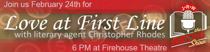 Join Us for February's Writing Show, Love at First Line!