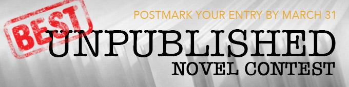 Best Unpublished Novel Contest is open