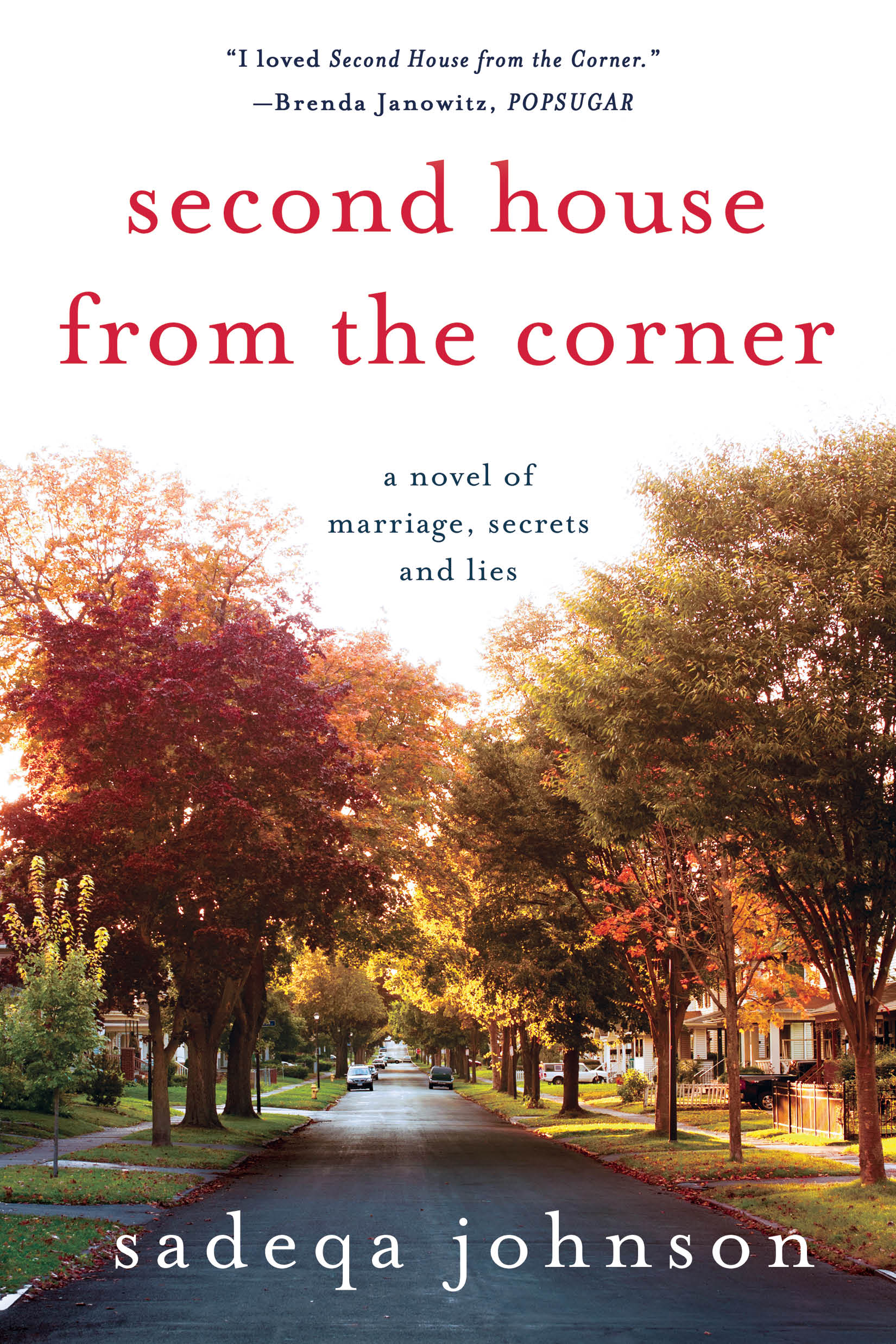 Second House from the Corner Book Cover by Sadeqa Johnson
